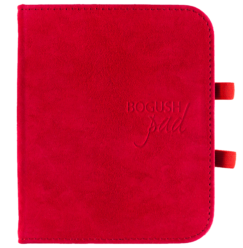 BogushPad Красный замш