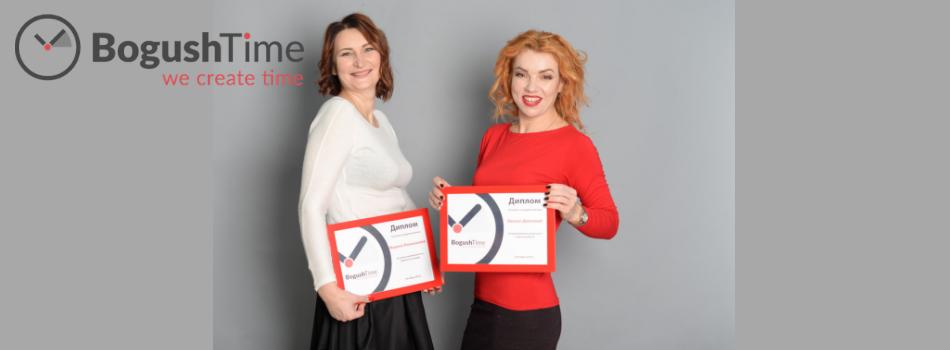 Лучшие сотрудники октября – Оксана Долгова и Марина Положаева!
