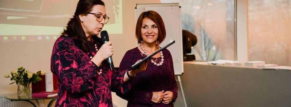 Ділова весна у Львові для успішних жінок виступила відома бізнес-тренерка Людмила Богуш-Данд