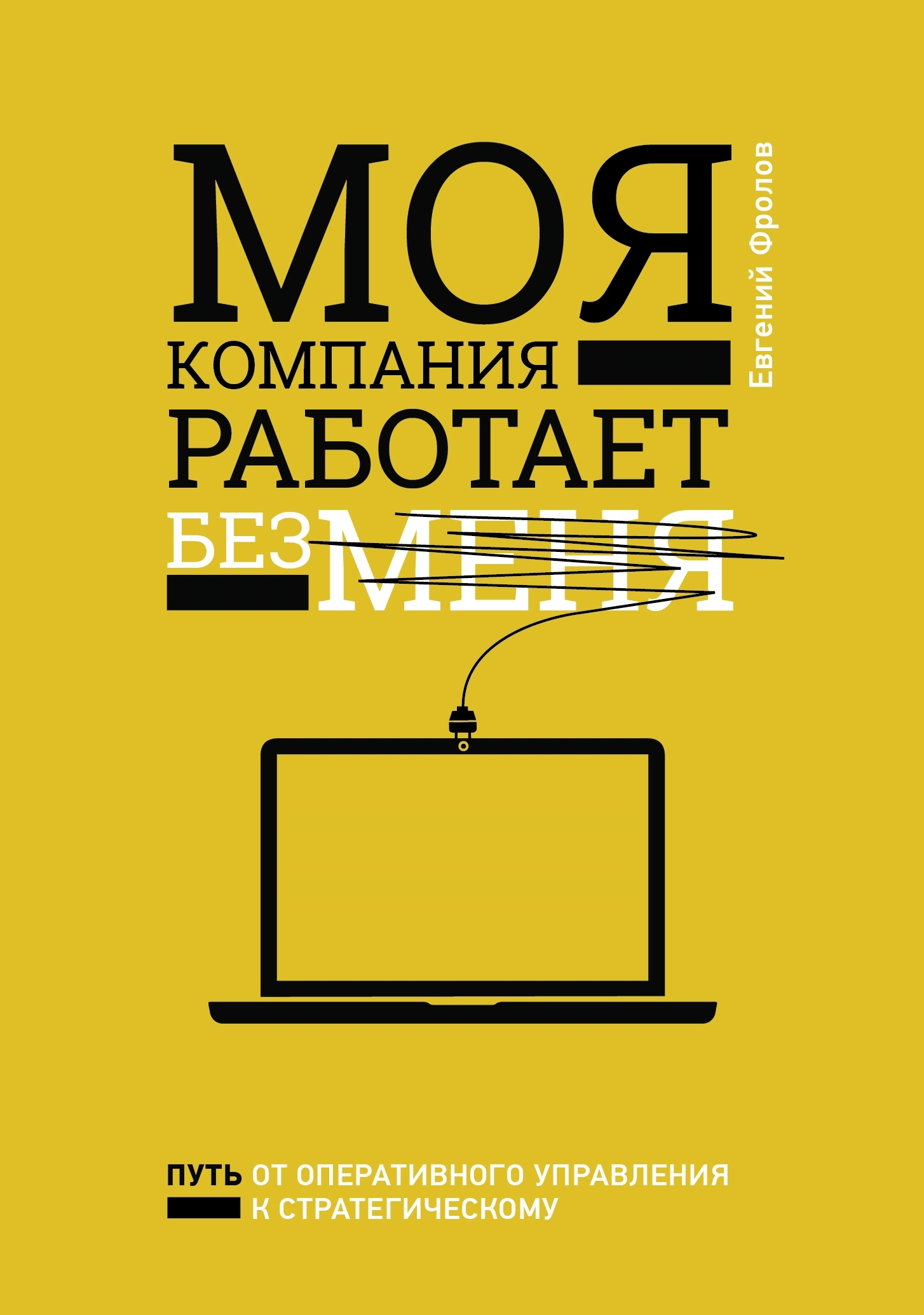 Моя компания работает без меня - автор Евгений Фролов