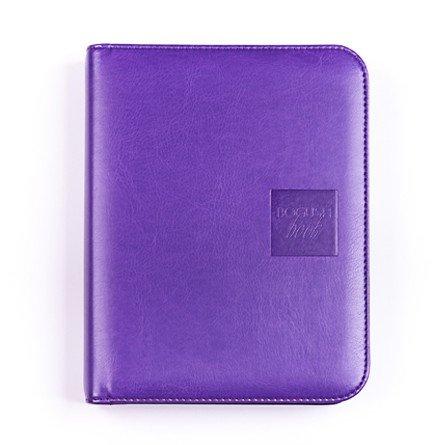 Легкий вариант «Богушбука» в обложке из искусственной кожи фиолетового цвета и в стандартной комплектации.