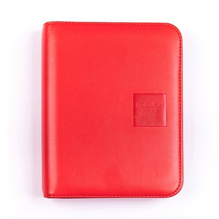 Легкий вариант «Богушбука» в обложке из искусственной кожи красного цвета и в стандартной комплектации.