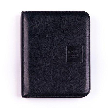 Легкий вариант «Богушбука» в обложке из искусственной кожи темно-синего цвета и в стандартной комплектации.