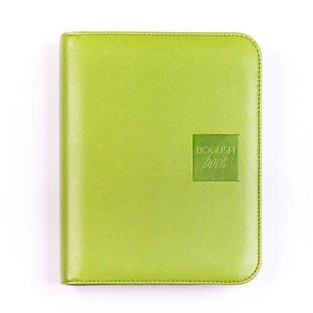 Легкий вариант «Богушбука» в обложке из искусственной кожи зеленого цвета и в стандартной комплектации.